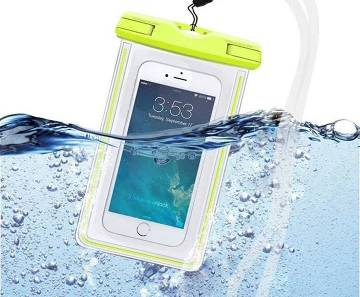 Waterproof Mobile Pouch Bag - Multicolou