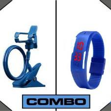 Combo offer LED Watch + Mobile Holder