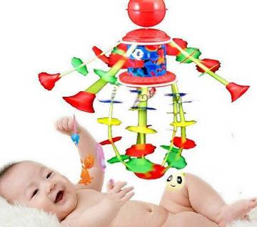 Rotating BED BEll Toy With Music