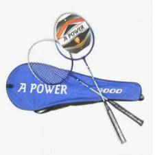 A POWER Badminton Racket 1 Pair (Copy)