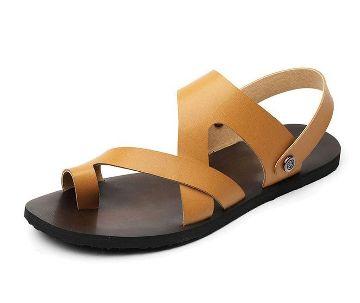 gents leather sandal