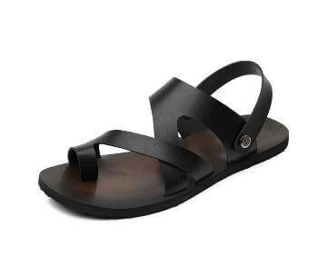 Gents leather belt casual sandal