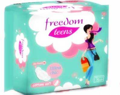 A14 Freedom Teens Ultra Chic Soft Sanitary Napkin 8 pcs