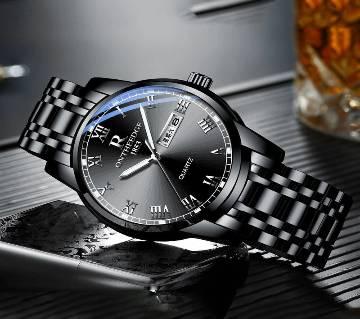 Metal Chain wrist watch for men