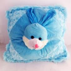 Sky Blue Rabbit Cushion