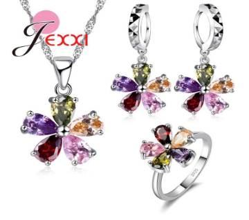 Necklace Earrings Set ( One Set )