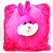 Pink Bunny Cushion
