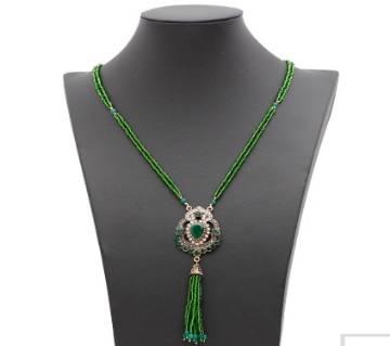 Turkish Women Vintage Strand Bead Necklace