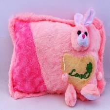 Light pink Bunny Pillow
