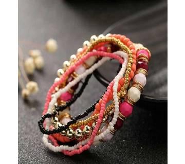 Multi-layer Beaded Bracelet