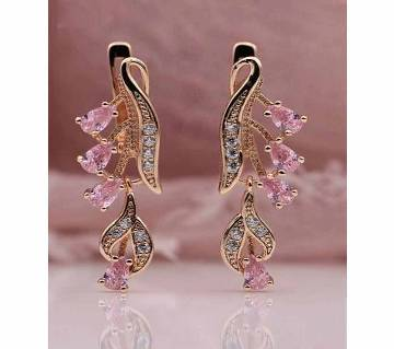 Pink Color Earring