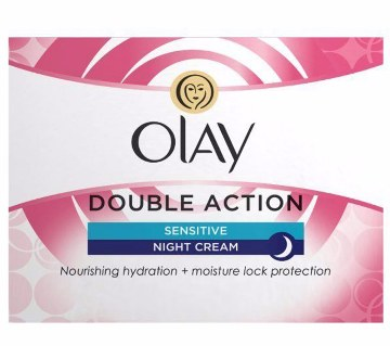 Olay Double Action Sensitive Night cream- 50ml