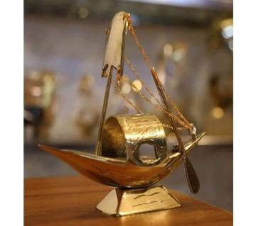 Brass Boat Show-Peace (Small Size)
