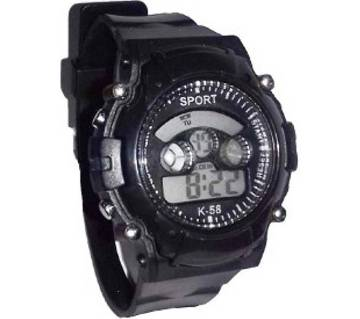 7 color digital sports watch
