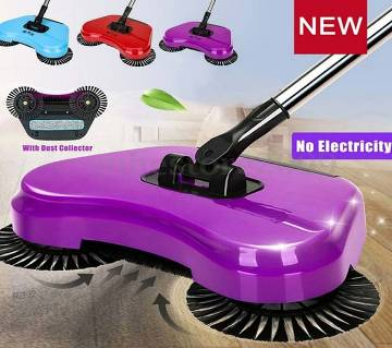 Manual Whirlwind Sweeper with Smart Multifunction .