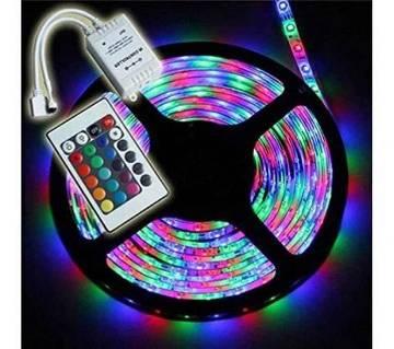 রিমোট কন্ট্রোলড LED স্ট্রিপ লাইট
