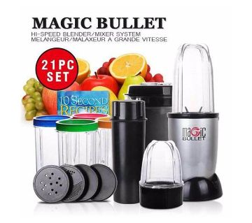 NOVA Magic Bullet blender set -21PCS