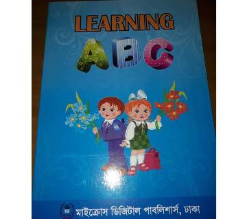 learning A,B,C  kids book