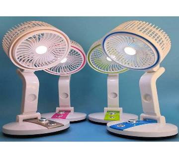 Fan & Light Multifunction USB Charging - 1 pcs
