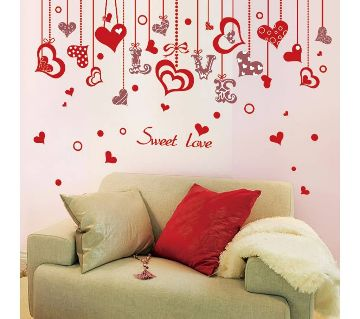 sweet love wall sticker
