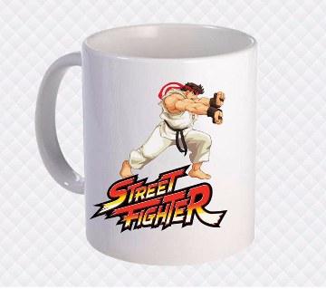 Street Fighter সিরামিক মগ