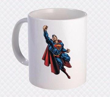Super Man সিরামিক মগ