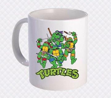 Ninja Turtle প্রিন্টেড সিরামিক মগ