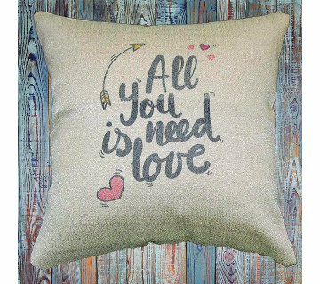Cushion Cover - All You Need is Love