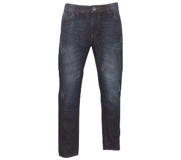 Alcott Semi Narrow Scratched Jeans Pants (Copy)