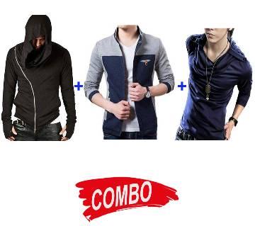 gents regular fit cotton jacket+Gent