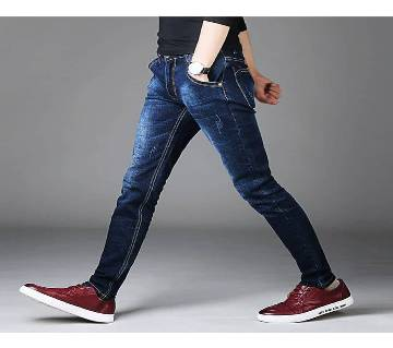 Gents Semi Narrow Fit Stretchable Jeans Pant