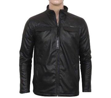 Gents Regular Fit PU Leather Jacket