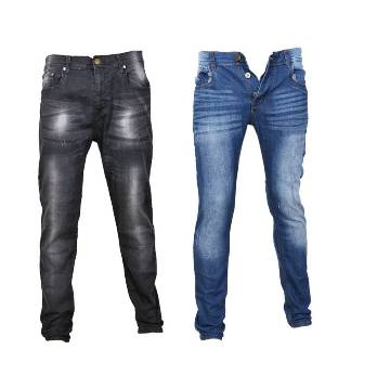 semi narrow fit gents jeans pant- combo offer