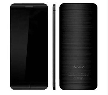 ANICA A7 মিনি কার্ড মোবাইল ফোন (Dual SIM)