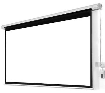 """Electric Projector White Screen  Size- 84""""X84"""""""