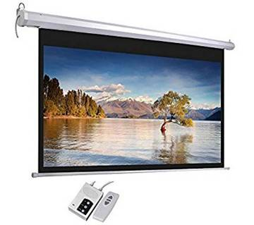 """ELECTRIC PROJECTOR SCREEN  96""""X96"""""""