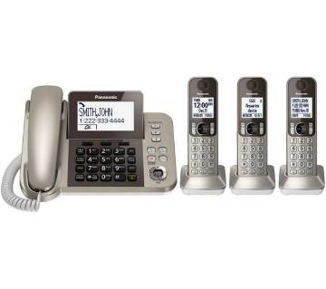 KX-TGF353 TNT Corded and Cordless Phone 3 Handsets 353