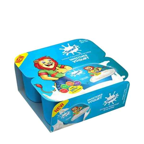 Shakti Plus Sweet Yogurt Plain Combo Pack 4 pcs