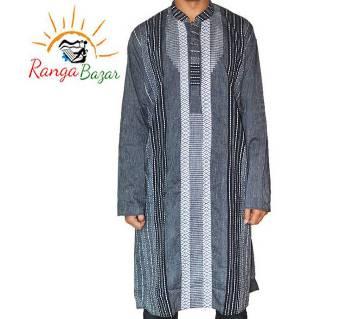 Gents semi long taant cotton punjabi