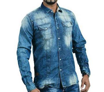 Fatal Jeans casual shirt for men-(Fade Print)
