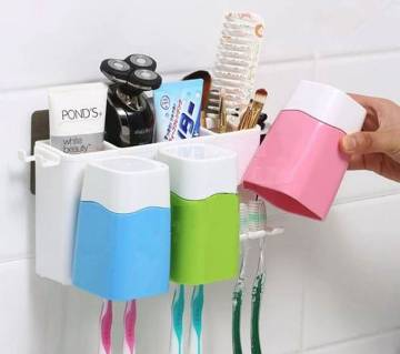 Toothbrush Combination Holder