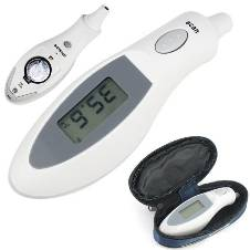 Digital IR Infrared Ear Thermometer Body Temperature Gauge
