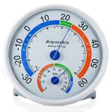 Anymeter  Indoor / Outdoor Comfortable থার্নো হাইগ্রোমিটার