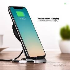 HOCO Qi Wireless Charging Pad Stand Desktop Holder