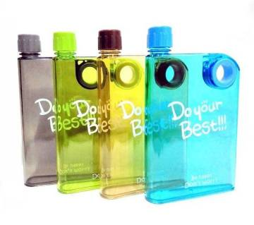 Notebook Water Bottle 380ml (1pc)