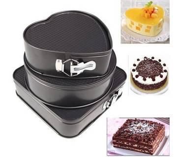 Three Design Cake Pan Set