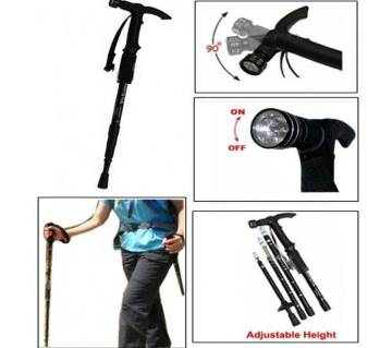 Walking Stick With Torch