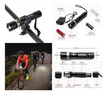 Rechargeable Bicycle Torch Lights