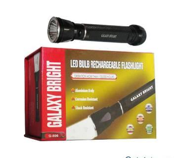 LED Bulb Rechargeable Flashlight