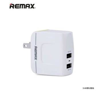 Remax USB Charger Dual Port 3.4A RMT6188